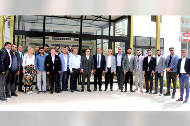 Mersin GİAD'ın konuğu MTOSB Başkanı Sabri Tekli oldu