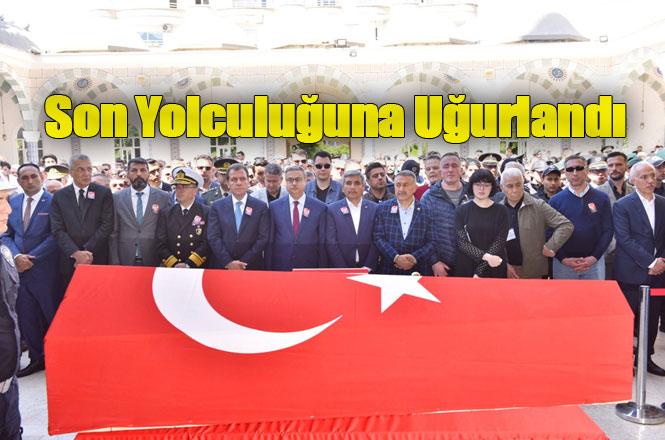 Şehit Emniyet Müdürü Bülent Pehlivan, Mersin'de Son Yolculuğuna Uğurlandı