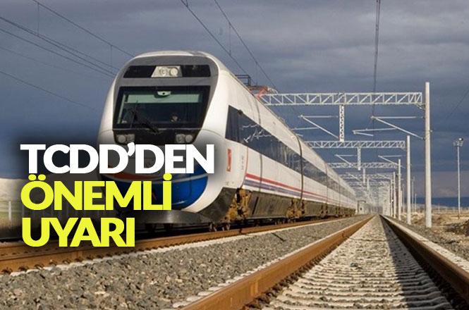 Mersin ve Adana Dikkat! TCDD'den 15 Bin Volt Uyarısı