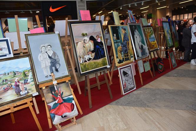 ''Anadolu'da Yaşam'' Konulu Resim Sergisi Açıldı