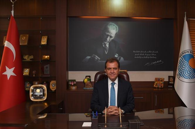 Mersin Büyükşehir Belediye Başkanı Vahap Seçer, '43.Turizm Haftası' Dolayısıyla Mesaj