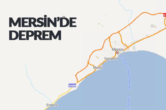 Mersin'inMezitliİlçesinde 2.1 Büyüklüğünde (Küçük) Deprem Meydana Geldi