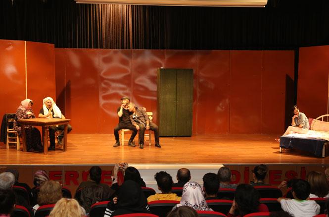 Erdemli Belediye Şehir Tiyatrosu Turnelere Hazır