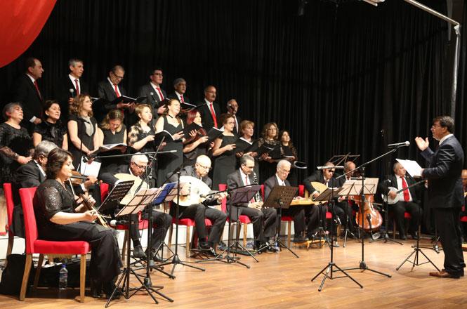 Mersin Erdemli'de Türk Sanat Müziği Korosundan Muhteşem Konser