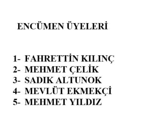 Mersin Büyükşehir Encümen Üyeleri