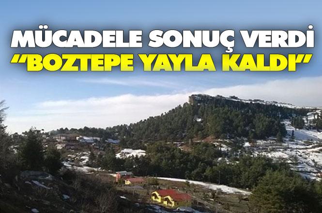 Mersin Tarsus Boztepe'de Maden Ocağına ÇED Engeli, Vatandaşın Mücadelesi Sonuç Verdi