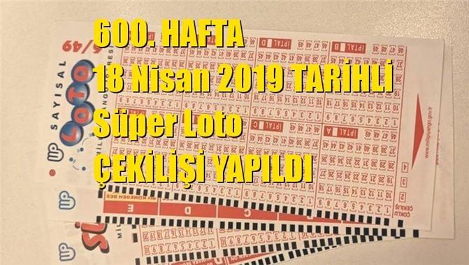 Süper Loto Sonuçları 1 Kişi Bildi Kazanan İzmir / Karşıyaka'dan 18 Nisan 2019 Tarihli Çıkan Sayılar: 11 - 18 - 33 - 36 - 37 - 52
