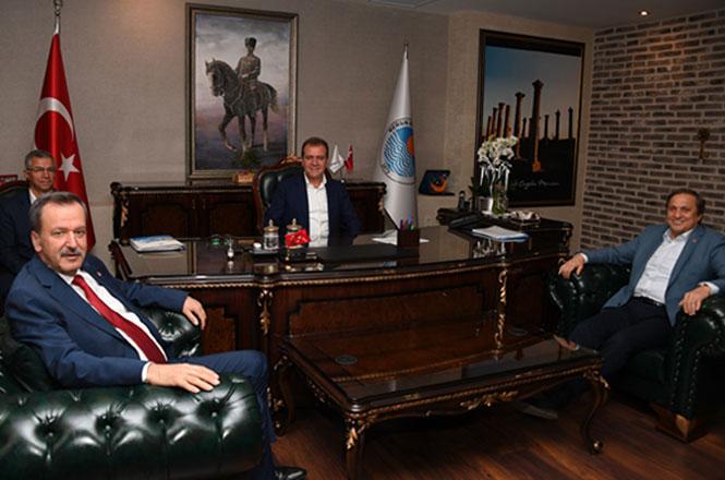 Seyit Torun'dan Başkan Seçer'e Ziyaret