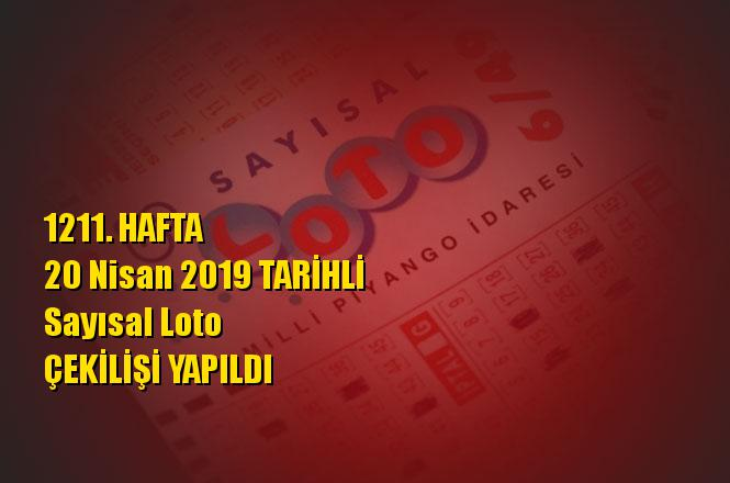 Sayısal Loto Sonuçları 20 Nisan 2019 Tarihli Çıkan Sayılar: 07 - 26 - 30 - 36 - 43 - 49