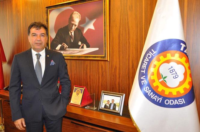 Tarsus Ticaret ve Sanayi Odası Yönetim Kurulu Başkanı H.Ruhi Koçak'tan 23 Nisan Mesajı
