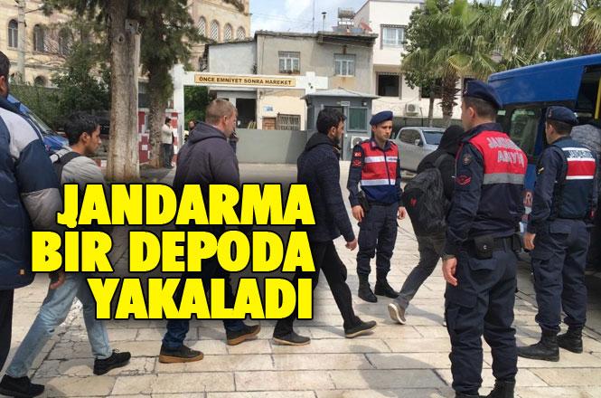 Mersin Erdmeli Tömük'te 10 Ayrı Suçtan Cezası Bulunan Şahıs Yakalandı