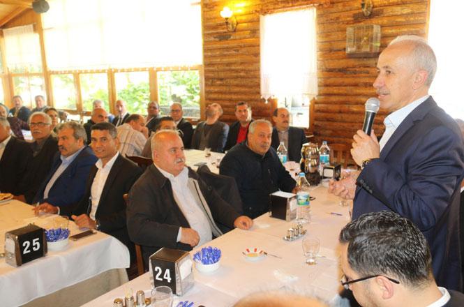 Akdeniz Belediye Başkanı Mustafa Gültak, Muhtarları Dinledi