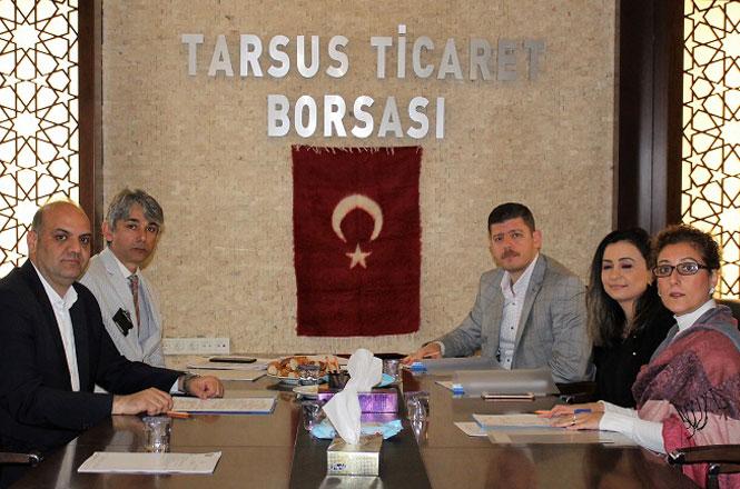 Tarsus Ticaret Borsası Akreditasyon İzleme Komite Toplantısı Gerçekleştirildi