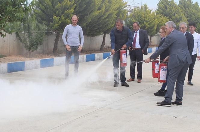 TTB'de Tahliye ve Yangın Tatbikatı Eğitimi