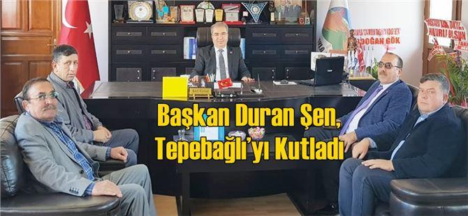 Başkan Duran Şen, Tepebağlı'yı Kutladı