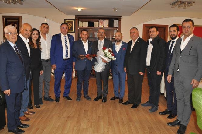 """TASİAD Başkan ve Yönetimi Belediye Başkanı Bozdoğan'ı Ziyaret Etti, Başkan Bozdoğan """"İŞGEM Devam Edecek"""""""