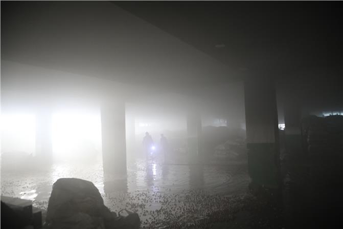 Mersin Serbest Bölgedeki Kuruyemiş İşleme Tesisinde Yangın Çıktı