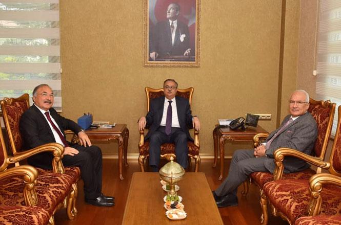Kocamaz'dan Mersin Valisi Ali İhsan Su'ya Nezaket Ziyareti