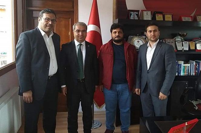 Mersin Haber ve İBT Medya'dan Başkan İsmail Tepebağlı'ya Hayırlı Olsun Ziyareti