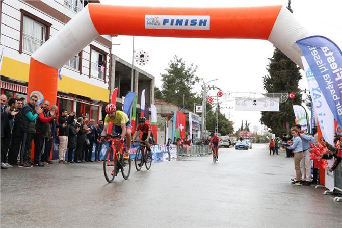 Tour Of Mersin'de Sporcular Üçüncü Günü Geride Bıraktı