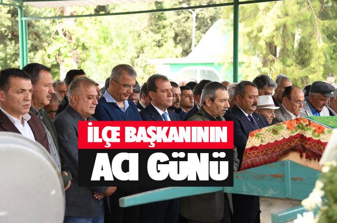 CHP Tarsus İlçe Başkanı Ali İlk'in Vefat Eden Annesi Fatma İlk, Tarsus'ta Toprağa Verildi
