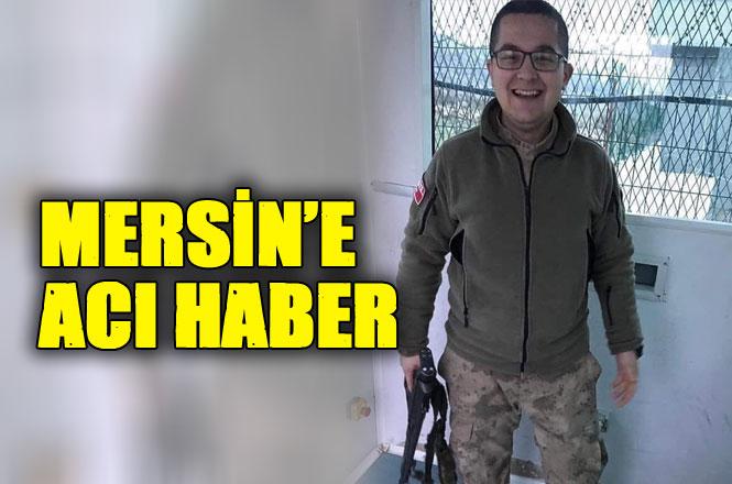 Mersinli Askerin Acı Haberi Memleketine Ulaştı, Jandarma Er Muhammet Sefa Duru, Şırnak'ta Görevi Başında Vefat Etti