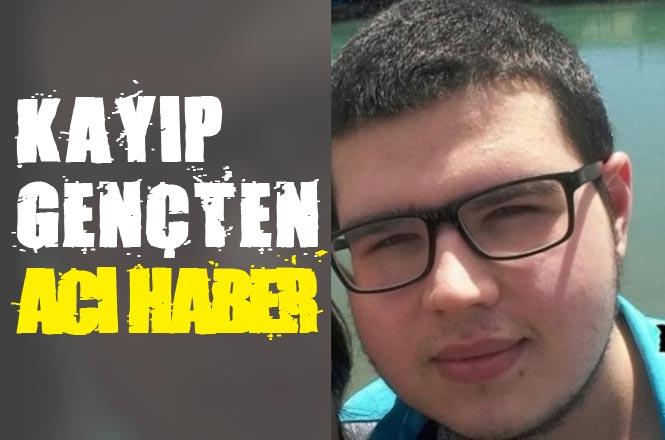 Mersin Anamur'da 3 Gündür Kendisinden Haber Alınamayan 19 Yaşındaki Fatih Tuğrul Ölü Bulundu