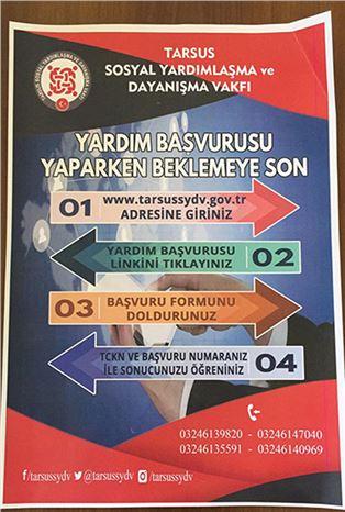 SYDV (Sosyal Yardımlaşma ve Dayanışma Vakfı) Yardım Başvuruları, İnternet Üzerinden Yapılacak
