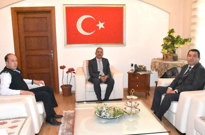 Emniyet ve Jandarmadan Başkan Bozdoğan'a Ziyaret