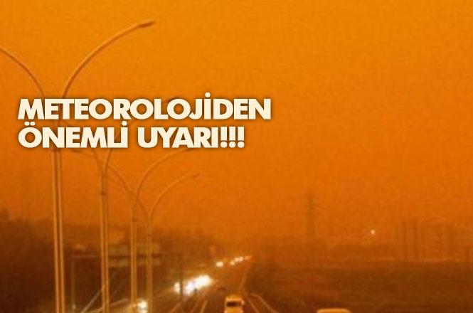 Mersin Dikkat! Meteorolojiden Akdeniz, Marmara ve Ege'ye Toz Uyarısı: Çamur Yağabilir