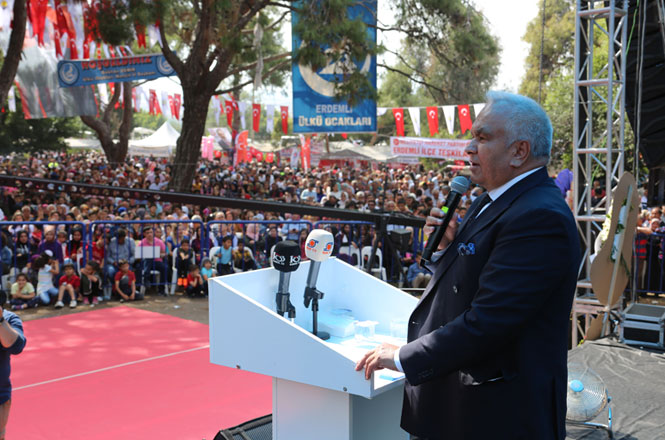 Erdemli Belediyesi, Geleneksel Olarak Düzenlenen Türkmen Şöleninin 30. Yıl Kutlamalarını Gerçekleştirdi