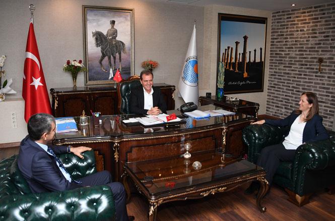 DİSK'ten Başkan Seçer'e Ziyaret
