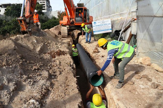 Kocahasanlı Mahallesi Kanalizasyona Kavuştu, MESKİ Tarafından Yapılan İnşaat Tamamlandı
