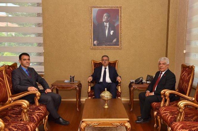 Vali Su, Silifke Belediye Başkanı Aktan'ı Kabul Etti