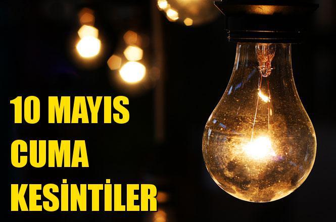 Mersin Elektrik Kesintisi 10 Mayıs Cuma Günü