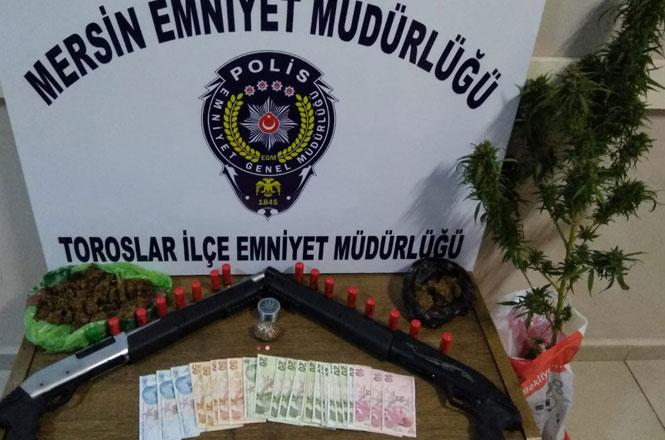 Mersin'de Polis, 6 Kilo 120 Gram Esrar Yakaladı