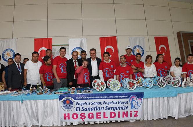 Mersin'de Bu Yıl 12.'si Düzenlenen Geleneksel Engelliler Haftası Şöleni Başladı