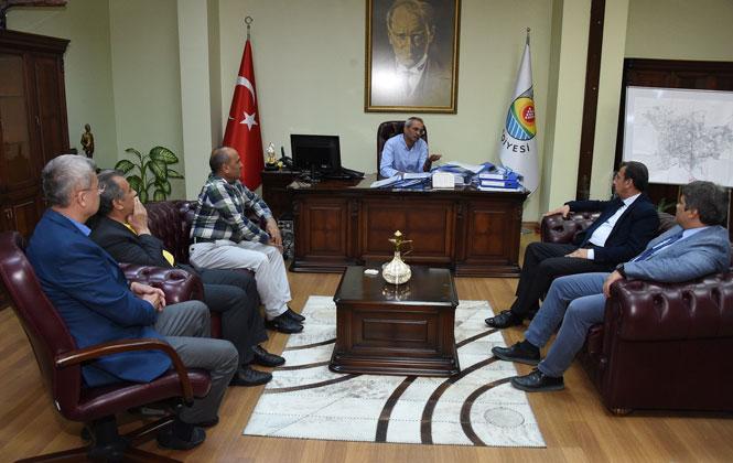 """Başkan Bozdoğan; """"Turizm ve Tarım Yatırımı Sanayi Kadar Önemli"""""""