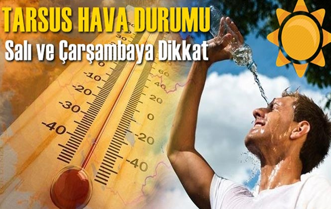 Tarsus Hava Durumu, Gün Gün Hava Sıcaklıkları