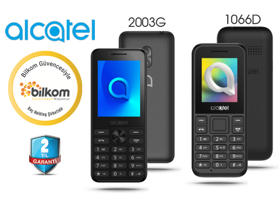 Tuşlu Cep Telefonu Alcatel