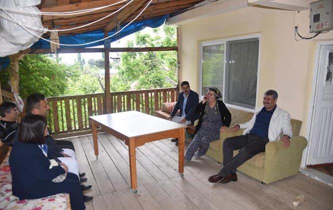 Başkan Hidayet Kılınç Şehit Anneleri Ziyaret Etti