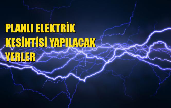 Mersin ve İlçelerinde Pazartesi Günü Yapılacak Planlı Elektrik Kesinti Programı Yayımlandı