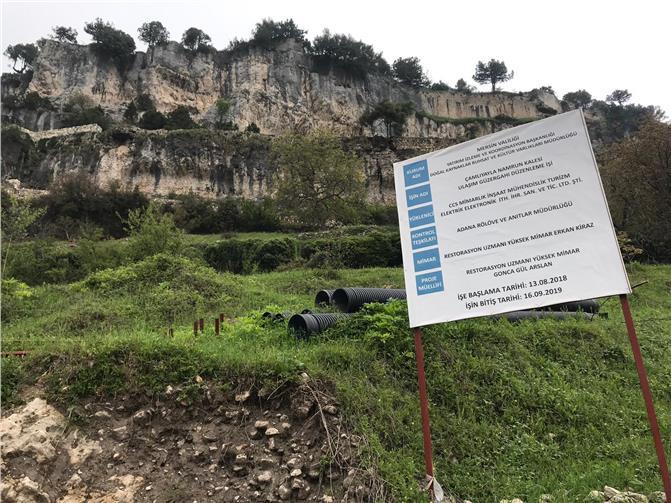 Mersin Çamlıyayla'da Bin 500 Metrelik Kaleye Ziyaretçi Yolu