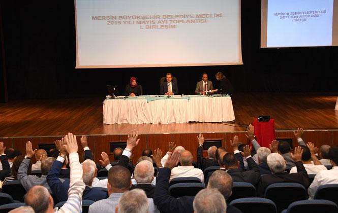 Büyükşehir Belediye Meclisi Mayıs Ayı 1. Birleşimi Yapıldı