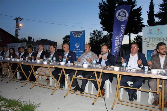 Tarsus Ticaret Borsası, Geleneksel İftar Programını Bu Yıl Gülek'te Gerçekleştirdi