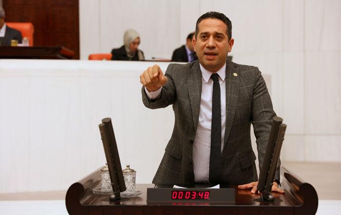 """CHP'li Başarır: """" Akkuyu Tamamlandığında Olası Bir Çatlak Ya da Depremde Akdeniz Haritadan Silinir"""""""