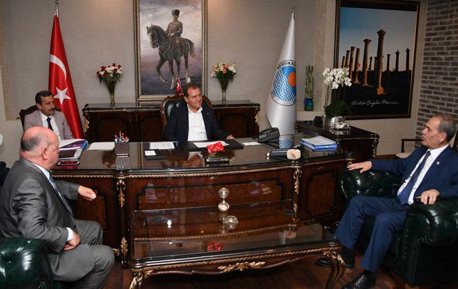 Gazeteciler Federasyonu Genel Başkanı Karaca'dan Başkan Seçer'e Ziyaret