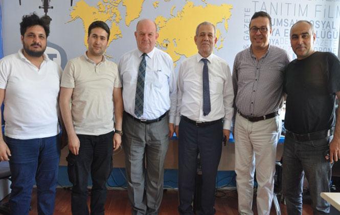 Federasyon Başkanı Karaca ve Esendemir'den İBT Medyaya Ziyaret