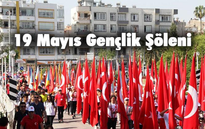 """Mersin Büyükşehir Belediyesinin """"19 Mayıs Gençlik Şöleni"""" Programı"""