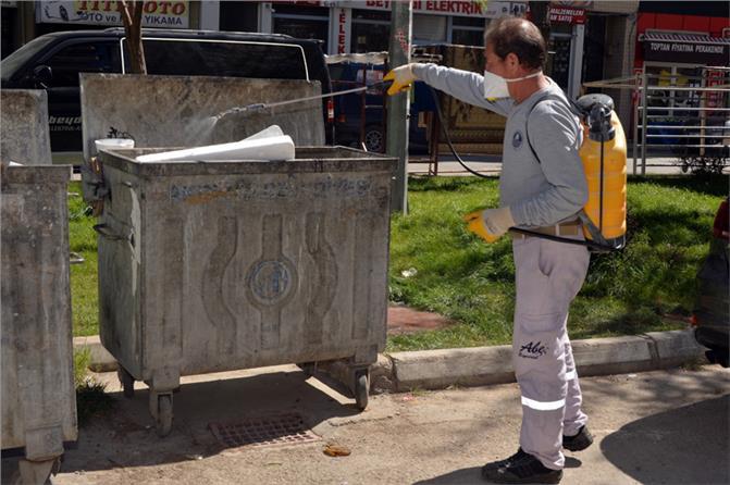 Mersin'de Haşere İle Mücadele Etkin Bir Biçimde Sürdürülüyor